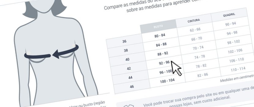 How to create size guide for fashion e-commerces