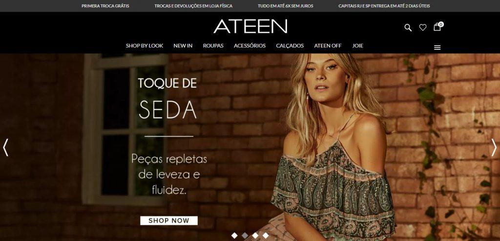 0a0b8e48e77 Ateen Moda Feminina também é cliente Sizebay